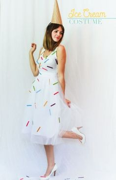 Ice Cream Party outfit for girls, for moms who would love to dress up!