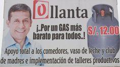 �Para cu�ndo el gas barato para todos los peruanos
