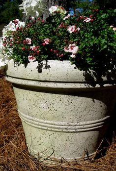 How to Faux Finish Plastic Flower Pots