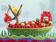 15 Angry Bird Birthday Party Idea