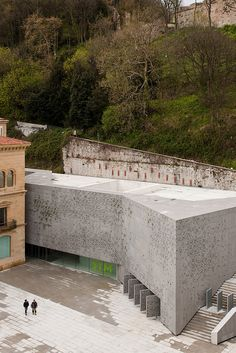 San Telmo Museum I  Architect for new extension: Nieto Sobejano Arquitectos.