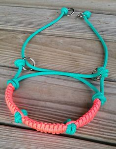 Indian Bosal/Bitless Bridle Attachment by KnotsByK on Etsy