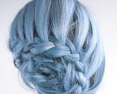 CRAIE de cheveux : Lumière Pervenche / / couleur de cheveux temporaire / / craie Pastel Dye