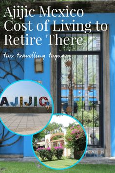 After visiting the friendly town of Ajijic, I'm not surprised why it is such a popular retirement location for North Americans and some Europeans. The Ajijic Mexico cost of living is very affordable compared to Canada or the U.S. It's been estimated that you can live on around 40% less than you would at home. Check out this post for all the details. #TwoTrvellingToques #Ajijic #Mexico