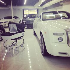 My future cars in my future garage with my child's future ride ;) #dreambig