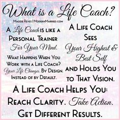 What is a Life Coach? Click the pin for more. What is a life coach? A personal trainer for your mind. Find A Life Coach, Becoming A Life Coach, Life Coaching Courses, Life Coaching Tools, Coaching Quotes, Leadership Quotes, Coaching Personal, Personal Trainer, Trauma