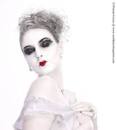Harlequin, by: Photographer Florian Corcos, model: Laury Lucidarme.