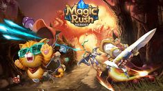 Magic Rush: Heroes Hack - Unlimited Gold, Diamonds, Stamina - http://hackspix.com/698-magic-rush-heroes-hack/