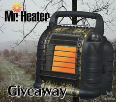 Mr. Heater Portable Hunting Buddy Propane Heater Giveaway