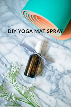 DIY Yoga Mat Spray - The Balanced Berry