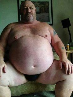 Chubby belly with fetish Men