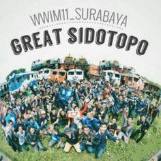 Great Sidotopo railyard . Locomotiv depot . Gathering railfans and instagrammers at surabaya city . Indonesia