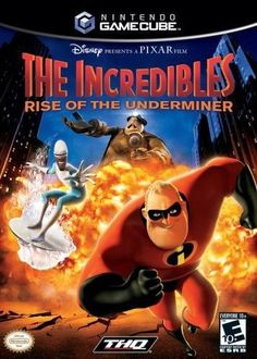 Incredibles 2 Rise of the Underminer - Gamecube