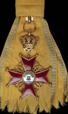 Ordine della Fedeltà del Gran Ducato di Baden. - Insignito Cavaliere di Gran Croce dell'Ordine nel 1806. -  in foto, Fascia e Gran Croce dell'Ordine.