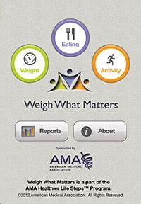 AMA weight loss app