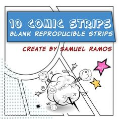 Have fun in the classroom with these cool comic book strips templates. 10 different strips, plus a bonus one to add to the fun. Created by Samu...