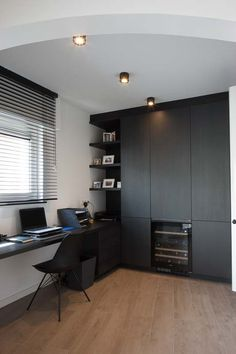 Why the Home Office Furniture You Use Matters Modern Office Decor, Home Office Decor, Home Decor, Home Room Design, Home Office Design, Office Curtains, Used Office Furniture, Small Home Offices, Pinterest Home