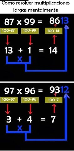 Student Management System This multiplication trick can be helpful for students and it is very useful for them to learn mathematics easily. Trick 17, Multiplication Tricks, Math Bulletin Boards, Math Classroom Decorations, Math Magic, Math Vocabulary, Simple Math, Easy Math, Fun Math