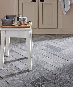 Cornish driftwood light beach house effect flooring from for Bluestone flooring interior
