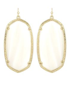 Danielle Statement Earrings in White - Kendra Scott Jewelry