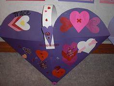 Make a Valentines Card Holder for School.