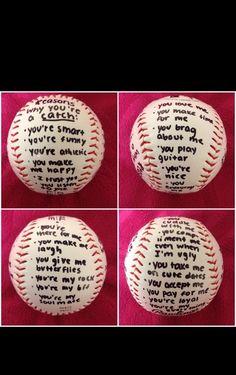 Ideas Gift Baseball Boyfriends Football Boyfriend