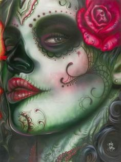 √ sugar skull art                                                                                                                                                                                 Más