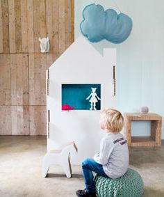 #DIY Puppetshow cabinet - #101woonideeen.nl - Dutch interior and crafts magazine