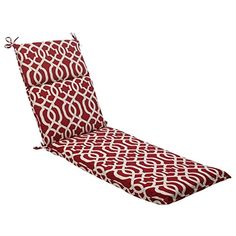 725 Moroccan Mosaic Red Outdoor Patio Furniture Chaise Lounge Cushion -- Be sure to check out this awesome product.