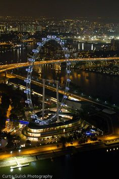 Going to have to get Ally prepped for this. Singapore Flyer - Curtis Gulick Photography