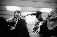 John Lennon & George Harrison 1966