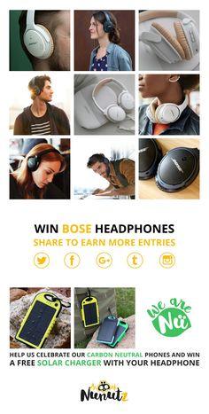 Win a pair of Bose headphones!