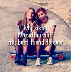 "You are one of the best things to ever happen to me ❤️. you girls are amazing, gorgeous and the only true friends I have .and not just ""BFF's"" .u truly are both the BEST of any of my friends! Best Friends Sister, Dear Best Friend, Bestest Friend, Best Friends For Life, Best Friend Goals, Best Friend Quotes, Best Friends Forever, Real Friends, Best Friend Things"