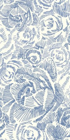 Porcelain Rose wallpaper by Emma Pouta of Finland