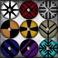 Viking Shields by XeketDarkhand