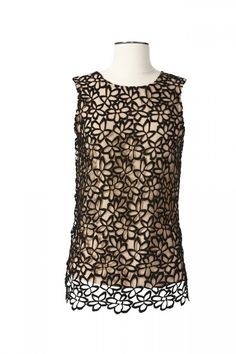 Lace Top by Lela Rose for Target + Neiman Marcus Holiday Collection #Top #Leia_Rose
