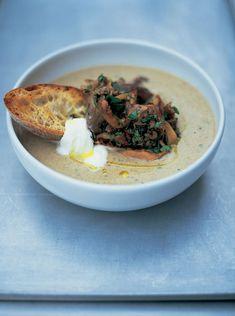 soupe aux champignons - Jamie Oliver