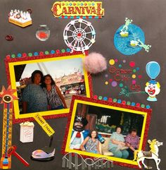 Carnival Fun by ScrapbookWorthyB on Etsy