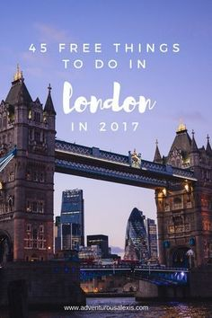 London is expensive but this list of forty-five things to do is a budget travel goldmine.