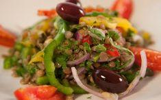 Σαλάτα με φακές, αρωματικά χόρτα και ελιές – News.gr Food And Drink, Ethnic Recipes