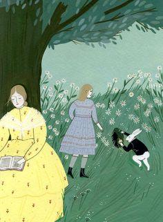 Classics Unfolded: Alice in Wonderland - Illustration by Yelena Bryksenkova