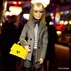"""""""Best way to start #NYFW, celebrating with @nylonmag for their #fiftyshadesoffashion party!  #barbie #barbiestyle"""""""
