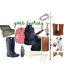 """""""gone fishing"""" by yoxberry24 on Polyvore  fishing outfit"""