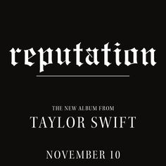 Taylor Swift Just Announced Her New Album And I AM NOT OKAY