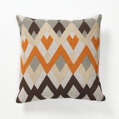 Diamond Echo Throw Pillow