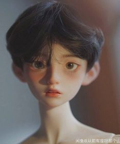 Pose Reference Photo, Hair Reference, Art Reference Poses, Pretty Dolls, Cute Dolls, Beautiful Dolls, Androgynous Hair, Enchanted Doll, Doll Painting