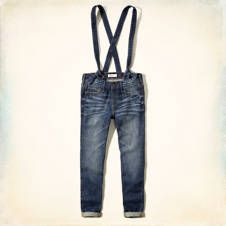 Hollister Devin Suspender Overalls