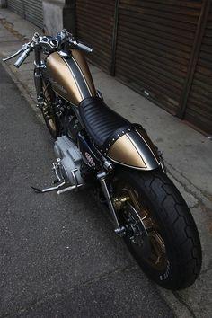 Harley Davidson Cafe Racer #motorcycles #caferacer #motos | caferacerpasion.com