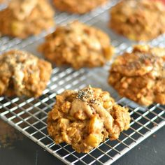 Turn the oven on & grab the peanut butter! These gluten free cookies made with oatmeal & brown rice are a delicious & healthy treat!