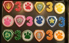 Paw Patrol Cookies by CelebratewithCookies on Etsy